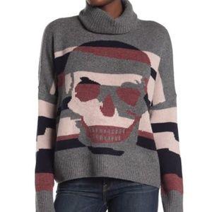 SKULL CASHMERE Justine Cowl Neck Sweater XS
